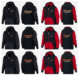 $enCountryForm.capitalKeyWord Australia - New Type Guard Clothes of 2019 black and red Denver Los Angeles Chicago Detroit Bears Rams Lions Broncos hoodie Sweater