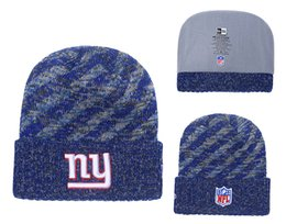 298501544a8d72 Men's New York Giants New Royal 2018 Sideline Cold Weather Official Sport  Knit Hat Toasty Cover Pom Cuffed 01