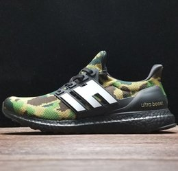 boost pack 2019 - New Ultra Boosts Camo Green Black Apes Ultraboost Super Bowl Shoes Mens Womens Collection Pack Size 13 48 Sneakers With
