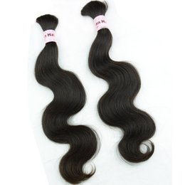Wholesale Braiding human hair bundles body wave Burmese Cambodian Mongolian Chinese hair extensions bulk unprocessed braid wavy hair products