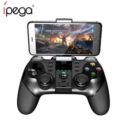 gamepad phone Australia - iPEGA 9077 PG-9077 Controller Gamepad Wireless Joystick for Phone Joypad for Phone Tablet PC Android Tv Box