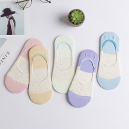 $enCountryForm.capitalKeyWord Australia - 5 pairs 30colors ladies spring summer cotton slipper socks gril cartoon sock slippers hot women invisible Calcium women socks