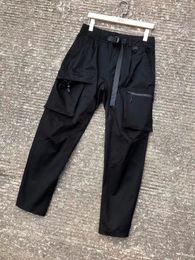 $enCountryForm.capitalKeyWord Australia - 2019 mens designer new fashion Pocket decoration track jogging pants chinese size pants ~ tops mens yoga joggers track sweat pants