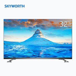 Inch Flat Panel Australia - Original New (SKYWORTH)32H5 32 inch HD HDR eye protection full screen WIFI bedroom LCD flat panel TV