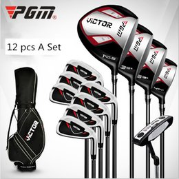 $enCountryForm.capitalKeyWord NZ - Men Golf Clubs Complete Set of Clubs 12pcs With Golf Bag 3 Woods 1 Hybrid 7 Irons 1 Putter