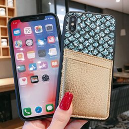$enCountryForm.capitalKeyWord Australia - Glitter Bling TPU PC Leather Wallet Card Slots Case For iPhone XR XS Max X 8 7 6 Samsung S9 S10 Plus S10E Note 9 A10 A20 A30 A40 A50 A60 A70
