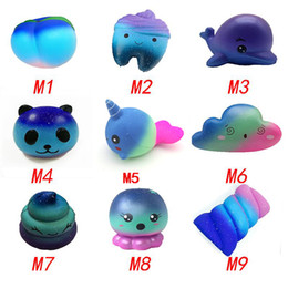 $enCountryForm.capitalKeyWord Australia - Star Sky Color Squishy toys Peach toothed panda clouds porpoise dolphin poop cotton candy whale octopus Slow Rising Rebound for kid toys