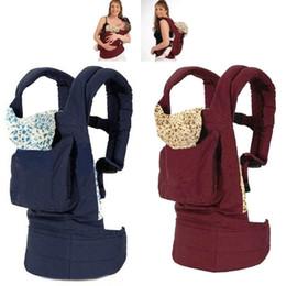 Toddler Carry Australia - Adjustable Sling Infant Toddler Safety Back baby belt Cotton Soft Newborn Back baby belt Straps Backpack