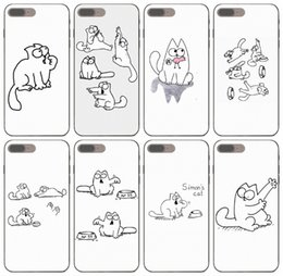 desire hard case Australia - [TongTrade] Simon Cat Custom Hard Case For iPhone 11 Pro X XS Max 8s 7s 6s 5s Plus Galaxy S2 S3 S4 S5 Mini Huawei Y7 Y9 HTC Desire 626 Case
