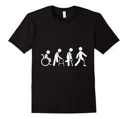 $enCountryForm.capitalKeyWord Australia - Amputee Evolution T-shirt for Men 100% Cotton T Shirts Brand Clothing Tops Tees 2017 Hot Sale New Men'S T Shirt Plus Size