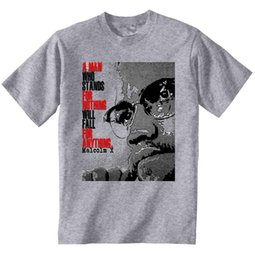 Shirt X S Australia - MALCOLM X LEADER QUOTE - NEW AMAZING GRAPHIC GREY TSHIRT- S-M-L-XL-XXL-XXXL Men Funny O Neck Short Sleeve Cotton T-Shirt