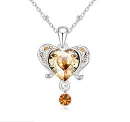 $enCountryForm.capitalKeyWord UK - fashion Originality jewelry Made in China Woman Ornaments Using Swarovski Elemental Crystal Necklace Aries High-end Pendant