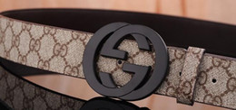 Belts Men Gold Australia - 2019 Include Original Box 2019 Design Belts Men and Women Fashion Belt Genuine Leather Luxury Belt Brand Waist Belts Gold Silver Black