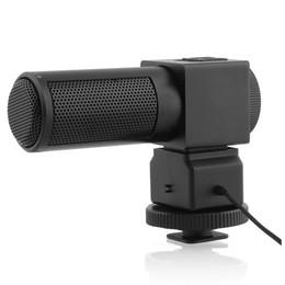 Microphone For Dslr Camera Australia - TTKK Takstar Stereo Microphone Camera Microphone SGC-698 for Nikon Canon DSLR Camera Camcorder