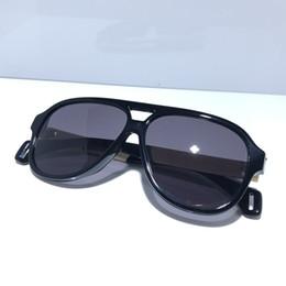 Carbon fiber sunglasses online shopping - 0463 Luxury designer sunglasses For Fashion Sunglasses Wrap Sunglasses Full Frame Coating Mirror Lens Carbon Fiber Legs Summer Style