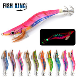 sports fishing lures 2020 - Sports & Entertainment FISH KING Squid Hook Fishin Lure Lead Sinker 3D Eyes 2 2.5g 3g 3.5g Jigs Octopus Cuttlefish Shrim