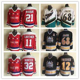6bdf6e2d077 7 Fotos Jagr de los jerseys del hockey del vintage en venta-Washington  Capitals # 68 Jaromir