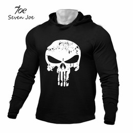 Thin Bodybuilding Hoodies Australia - Seven Joe Men gym Bodybuilding Hoodies Sweatshirt Pullover Hip Hop Brand Clothing Sportswear Cotton Workout Thin hooded