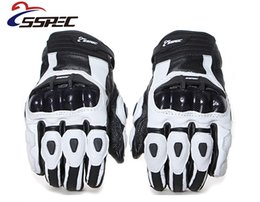 $enCountryForm.capitalKeyWord Australia - Motorcycle Gloves GP PRO Real Genuine Leather Glove Carbon Fibre Men Racing Motorbike Motocicleta guantes moto Guantes Luvas