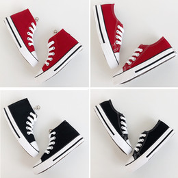Canvas Shoes Kid Sole Australia - Kids Shoes Low Sneakers Breathable Shoes Boys Girls Soft Anti Slip White Soles Canvas Shoes Kids Outdoor Casual Canvas Sneakers