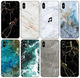 clear patterned iphone 5c cases Australia - [TongTrade] Stone Granite Marble Texture Pattern Case For iPhone 11 Pro X XS Max XR 8s 7s 6 Plus Galaxy J5 Honor 4C 5A 5C Redmi Note 5A Case