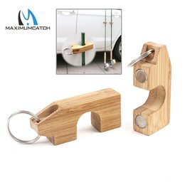 $enCountryForm.capitalKeyWord Australia - 1 st Houten Mini Fly Hengel Rack Holder Magnetische Hengel Guard Hanger Staaf Transport Systeem Hecht Aan Auto
