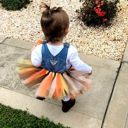 $enCountryForm.capitalKeyWord Australia - 2019 new baby tutu hand made Hallowmas skirts for gift girl tutu dress for All Saints' Day party