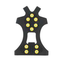 $enCountryForm.capitalKeyWord UK - 10 Studs Anti-skid Ice Crampons Snow Shoe Spikes Thermoplastic Elastomer Climbing Grips Cleats Over Shoes Covers