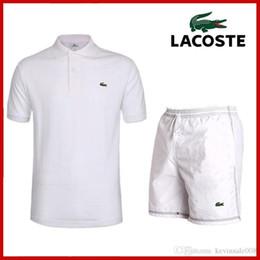 CroCodile suit online shopping - crocodile Mens Tracksuits Joggers Sportsuits Male Track Suits Shorts Pants T Shirts Sweatsuits Sportwear polo shirt Suits