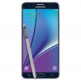 $enCountryForm.capitalKeyWord NZ - Original Samsung Galaxy Note 5 N920A N920T N9200 4GB 32GB 5.7 Inch octa core Android 5.1 4G LTE Refurbished unlocked cellphone