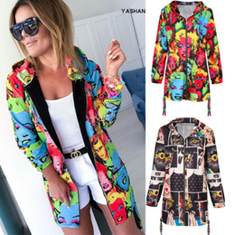 Wholesale zip up bomber jacket for sale – winter Plus Size Womens Floral Zipper Bomber Long Sleeve Knitted Cardigan Hoodies Autumn Hoodie Zip UP Casual Outwear Coat Jacket