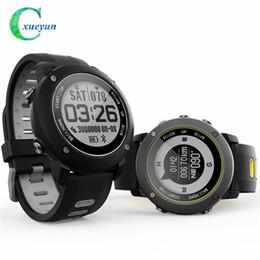 Water Resistant Gps Australia - Professional GPS Outdoor Sport Smart Watch UW90 Sport Wristwatch IP68 Waterproof Swimming Snoeling Heart Rate Fitness Tracker Watch
