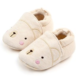 Slipper Sheep online shopping - Winter Baby Girl Boys Cotton Warm Shoes Cute Sheep Cartoon Comfortable Baby Shoes Slippers Fashion First Walkers Kid