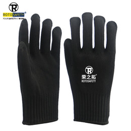 $enCountryForm.capitalKeyWord Australia - Anti-cut Gloves Safety Cut Proof Stab Resistant Stainless Steel Wire Metal Mesh For Kitchen Butcher Cut-Resistant