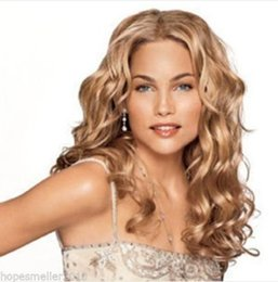 $enCountryForm.capitalKeyWord Australia - 01063 free shipping New Fashion Sexy Girl Long Blonde Wavy Bangs Women Cosplay Party Hair Full Wig
