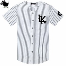 e45d92790 Man Si Tun New 07 Last Kings Baseball Tshirt Tyga Jerseys Black White Unsex  Men Women Hip Hop Style Tees Tops Rap Rock T-shirts J190524