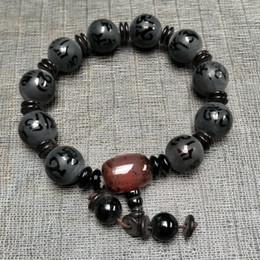 Großhandel NEUES ANGEBOT, chinesischer natürlicher Achat:, Handketten Natürliche bunte Achat 10mm Perlen Armbänder versandkostenfrei Auf Verkauf A3269