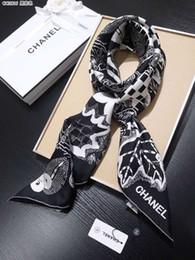 34cff9c26f45f 2019 frauen schal silk print foulard satin quadratischen kopf schals frauen  luxus designer schals 90   90 cm bandana große muslim hijab pashmin
