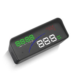 $enCountryForm.capitalKeyWord NZ - New hot sell P9 Head Up Display Car Styling HUD GPS Car OBD Smart Digital Meter Auto Two Display On The Windshield Digital Speedometer