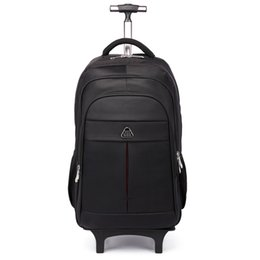 China Trolley backpack multi-function nylon backpack business large capacity mobile travel bag detachable waterproof luggage bag supplier mobile chocolate suppliers