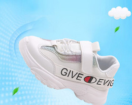 $enCountryForm.capitalKeyWord Australia - Hot Sale Brand spring and autumn Children Casual Sport Shoes Boys And Girls Sneakers Children's Running Shoes fashion Breathable mesh 3colo