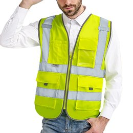 $enCountryForm.capitalKeyWord Australia - The Yellow Vest Clothes Men Road Work High Visibility pullover Sleeveless Jacket British Suit Vest