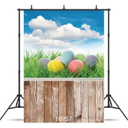 Art Canvas Prints Australia - SHENGYONGBAO Art Cloth Custom Photography Backdrops Prop Easter day Theme Photography Background 10957
