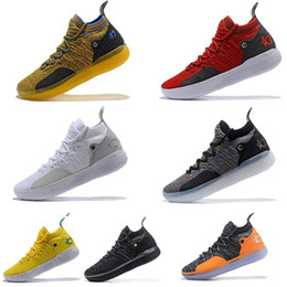 "$enCountryForm.capitalKeyWord Australia - 2019 New Arrival KD 11 ""EYBL"" Mens Shoes, Top Quality React ZOOM KD11 EP Athletic Sport Sneakers AO2604-600 Eur Size 40-46"