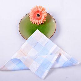 Scarfs Cotton Australia - Vosges Jieyu Pure cotton absorbent towel towel Dyed fresh summer scarf