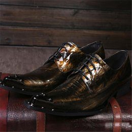 $enCountryForm.capitalKeyWord NZ - mens pointed toe dress patent genuine leather classical dance shoes oxford shoes for men fashion wedding party shoes