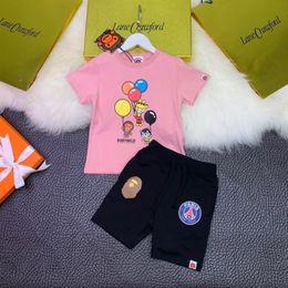 Body Tutu Australia - Girls round neck short-sleeved suit gold code logo printing good-looking upper body effect is very super handsomefun