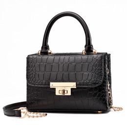 Locking Fashion Chains Australia - New Fashion Women Leather Lock Handbag High Quality Designer Crossbody Bag Casual Chain Shoulder Bags Purse Ladies Messenger Bags Wallet