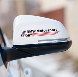 $enCountryForm.capitalKeyWord Australia - 8 Styles Rear View Mirror Stickers Window Glass Decals BMW Motorsport for BMW Mini 3 X1 X3 X5 X6 M General Black White