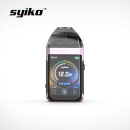 Chinese  2019 Best selling Syiko touchscreen products 2ml closed system refillable cartridge vape pods Kit manufacturers